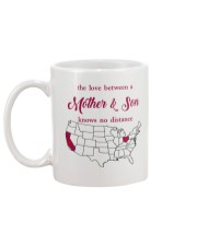 CALIFORNIA OHIO THE LOVE MOTHER AND SON Mug back