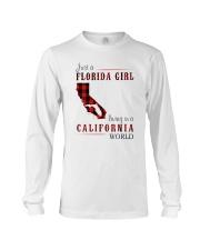 JUST A FLORIDA GIRL IN A CALIFORNIA WORLD Long Sleeve Tee thumbnail