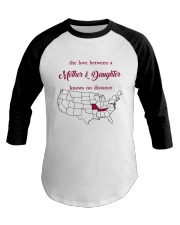 MISSOURI TENNESSEE THE LOVE MOTHER AND DAUGHTER Baseball Tee thumbnail