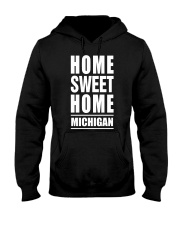 HOME SWEET HOME MICHIGAN Hooded Sweatshirt tile