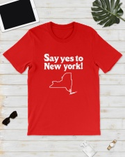 SAY YES TO  NEW YORK Classic T-Shirt lifestyle-mens-crewneck-front-17