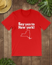 SAY YES TO  NEW YORK Classic T-Shirt lifestyle-mens-crewneck-front-18