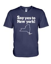 SAY YES TO  NEW YORK V-Neck T-Shirt thumbnail