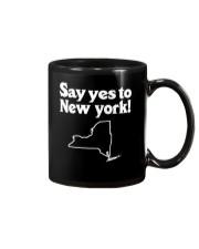 SAY YES TO  NEW YORK Mug thumbnail