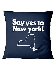SAY YES TO  NEW YORK Square Pillowcase thumbnail