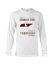 JUST A GEORGIA GIRL IN A TENNESSEE WORLD Long Sleeve Tee thumbnail