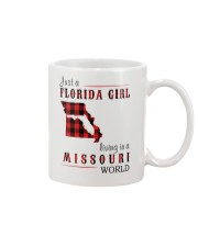JUST A FLORIDA GIRL IN A MISSOURI WORLD Mug thumbnail