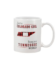 JUST A COLORADO GIRL IN A TENNESSEE WORLD Mug thumbnail
