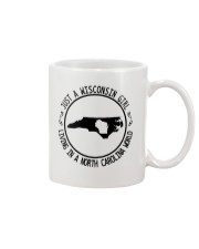 WISCONSIN GIRL LIVING IN NORTH CAROLINA WORLD Mug thumbnail