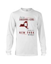 JUST AN ARIZONA GIRL IN A NEW YORK WORLD Long Sleeve Tee thumbnail