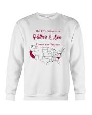 CALIFORNIA SOUTH CAROLINA THE LOVE FATHER AND SON Crewneck Sweatshirt thumbnail