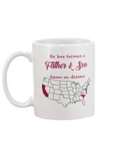 CALIFORNIA SOUTH CAROLINA THE LOVE FATHER AND SON Mug back