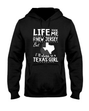 LIFE TOOK ME TO NEW JERSEY - TEXAS Hooded Sweatshirt thumbnail