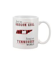 JUST AN OREGON GIRL IN A TENNESSEE WORLD Mug thumbnail