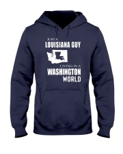 JUST A LOUISIANA GUY IN A WASHINGTON WORLD Hooded Sweatshirt thumbnail