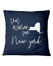 THAT WOMAN FROM  NEW YORK Square Pillowcase thumbnail
