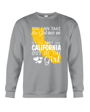 YOU CAN'T TAKE CALIFORNIA OUT OF THE GIRL Crewneck Sweatshirt thumbnail
