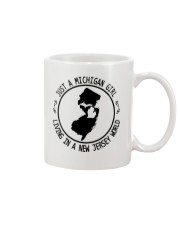 MICHIGAN GIRL LIVING IN NEW JERSEY WORLD Mug thumbnail