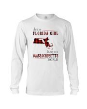 JUST A FLORIDA GIRL IN A MASSACHUSETTS WORLD Long Sleeve Tee thumbnail