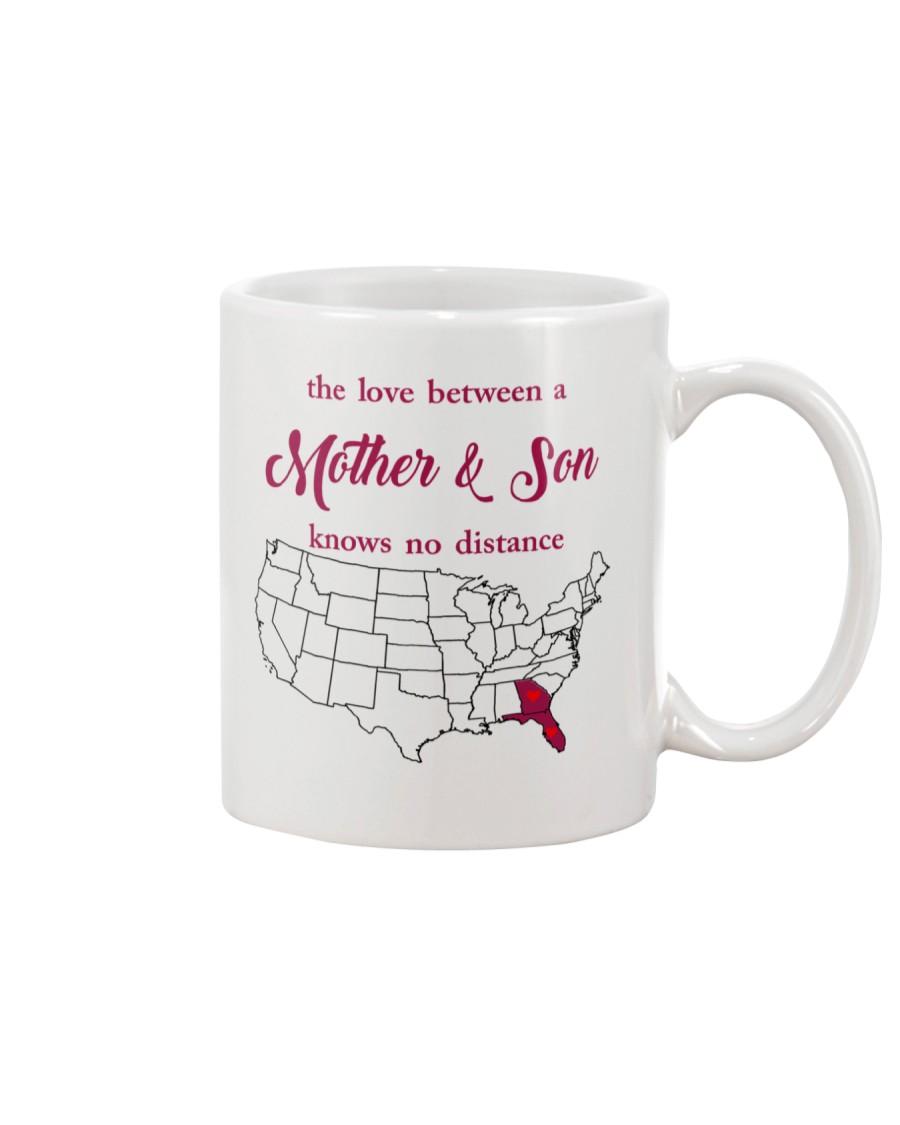 GEORGIA FLORIDA THE LOVE MOTHER AND SON Mug