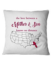 GEORGIA FLORIDA THE LOVE MOTHER AND SON Square Pillowcase thumbnail