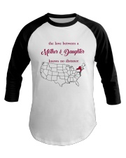 NEW JERSEY NEW YORK THE LOVE MOTHER AND DAUGHTER Baseball Tee thumbnail