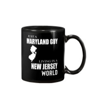 JUST A MARYLAND GUY IN A NEW JERSEY WORLD Mug thumbnail