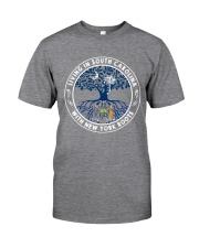 LIVING IN SOUTH CAROLINA WITH NEW YORK ROOTS Classic T-Shirt thumbnail