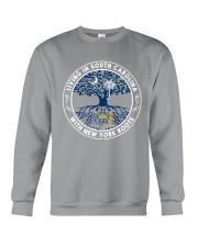 LIVING IN SOUTH CAROLINA WITH NEW YORK ROOTS Crewneck Sweatshirt thumbnail
