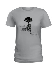 NEW YORK MY ROOTS RUN DEEP Ladies T-Shirt front
