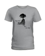 NEW YORK MY ROOTS RUN DEEP Ladies T-Shirt front