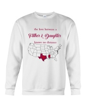 MISSISSIPPI TEXAS THE LOVE FATHER AND DAUGHTER Crewneck Sweatshirt thumbnail
