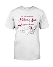 WASHINGTON MICHIGAN THE LOVE MOTHER AND SON Classic T-Shirt thumbnail