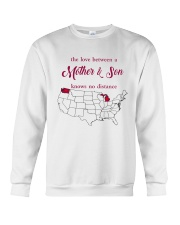 WASHINGTON MICHIGAN THE LOVE MOTHER AND SON Crewneck Sweatshirt thumbnail