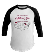 WASHINGTON MICHIGAN THE LOVE MOTHER AND SON Baseball Tee thumbnail