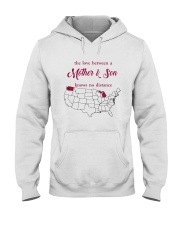 WASHINGTON MICHIGAN THE LOVE MOTHER AND SON Hooded Sweatshirt thumbnail