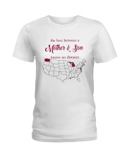 WASHINGTON MICHIGAN THE LOVE MOTHER AND SON Ladies T-Shirt thumbnail