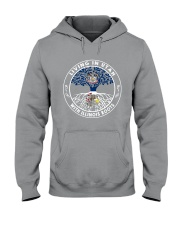 LIVING IN UTAH WITH ILLINOIS ROOTS Hooded Sweatshirt thumbnail