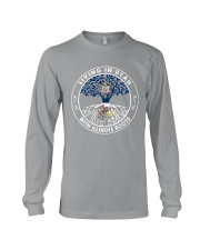 LIVING IN UTAH WITH ILLINOIS ROOTS Long Sleeve Tee thumbnail
