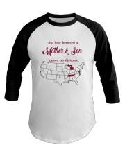 TENNESSEE MICHIGAN THE LOVE MOTHER AND SON Baseball Tee thumbnail