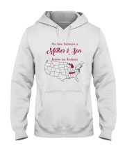 TENNESSEE MICHIGAN THE LOVE MOTHER AND SON Hooded Sweatshirt thumbnail