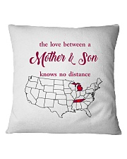 TENNESSEE MICHIGAN THE LOVE MOTHER AND SON Square Pillowcase thumbnail