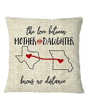 TEXAS MISSOURI THE LOVE MOTHER AND DAUGHTER Square Pillowcase thumbnail