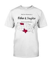 MONTANA TEXAS FATHER AND DAUGHTER Classic T-Shirt thumbnail