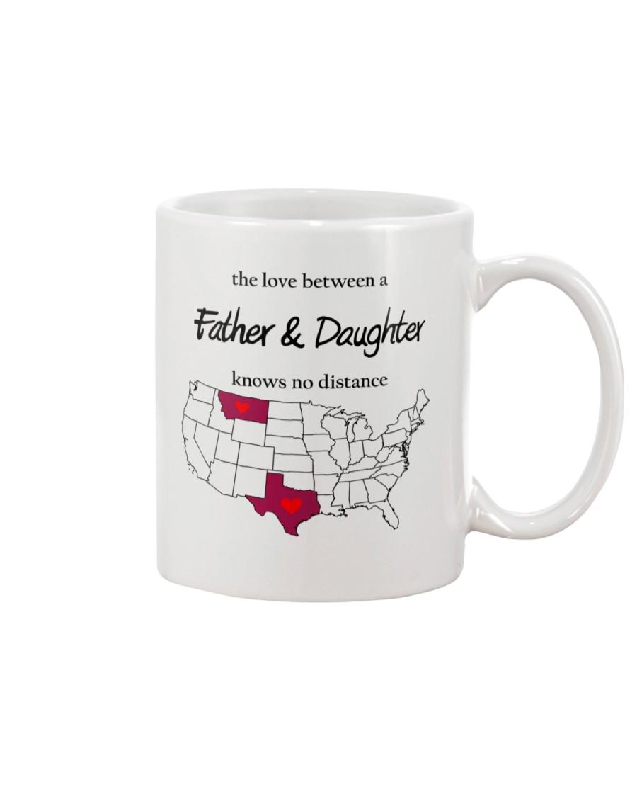MONTANA TEXAS FATHER AND DAUGHTER Mug