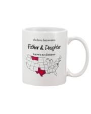 MONTANA TEXAS FATHER AND DAUGHTER Mug front