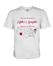 NEW YORK ARIZONA THE LOVE MOTHER AND DAUGHTER V-Neck T-Shirt thumbnail