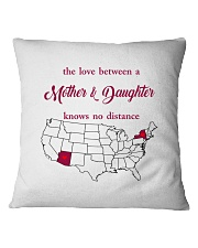 NEW YORK ARIZONA THE LOVE MOTHER AND DAUGHTER Square Pillowcase thumbnail