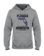 LIVE IN FLORIDA BUT I'LL HAVE MINNESOTA IN MY DNA Hooded Sweatshirt thumbnail