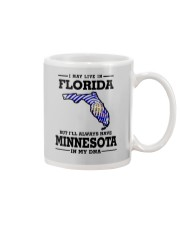 LIVE IN FLORIDA BUT I'LL HAVE MINNESOTA IN MY DNA Mug thumbnail